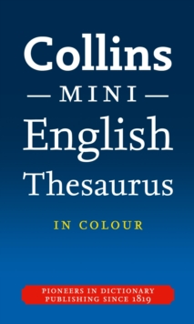Collins Mini Thesaurus, Paperback