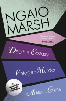 Vintage Murder / Death in Ecstasy / Artists in Crime (the Ngaio Marsh Collection, Book 2), Paperback
