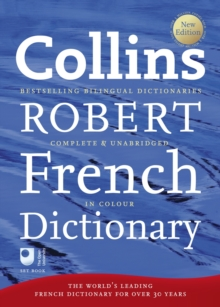 Collins Robert French Dictionary, Hardback