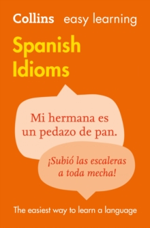Easy Learning Spanish Idioms, Paperback