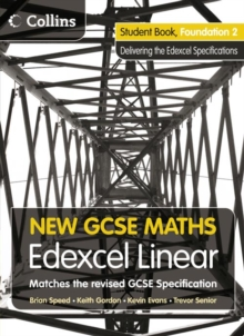 New GCSE Maths : Student Book Foundation 2: Edexcel Linear (A), Paperback Book