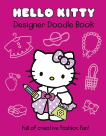 Hello Kitty Designer Doodle Book, Paperback