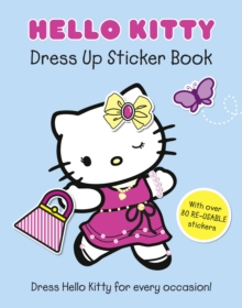 Hello Kitty Dress Up Sticker Book, Paperback