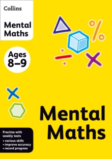 Collins Mental Maths : Ages 8-9, Paperback Book