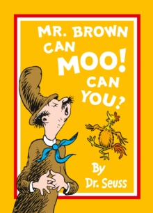 Mr Brown Can Moo! Can You?, Paperback