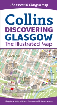 Discovering Glasgow Illustrated Map, Sheet map, folded Book