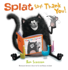 Splat Says Thank You!, Paperback