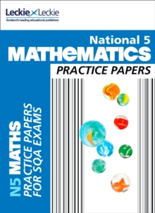 National 5 Mathematics Practice Exam Papers, Paperback