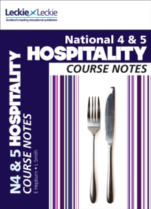 National 4/5 Hospitality Course Notes, Paperback Book