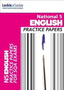 Practice Papers for SQA Exams : National 5 English Practice Papers for SQA Exams, Paperback