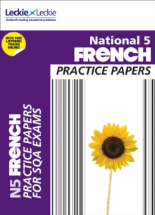 National 5 French Practice Papers for SQA Exams, Paperback