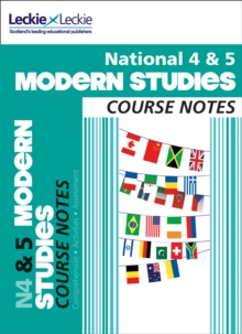 National 4/5 Modern Studies Course Notes, Paperback
