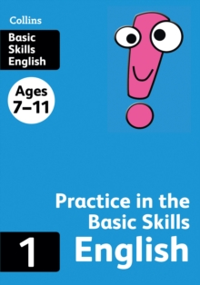 Collins Practice in the Basic Skills : English  Book 1, Paperback