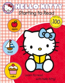 Learn with Hello Kitty: Starting to Read, Paperback