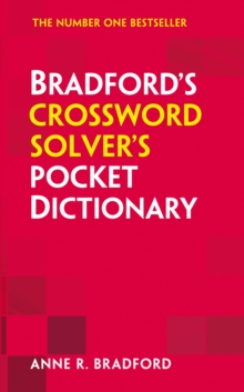 Collins Bradford's Crossword Solver's Pocket Dictionary, Paperback