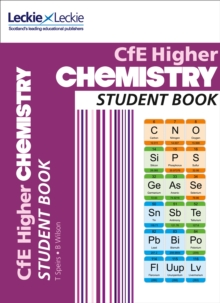 CfE Higher Chemistry Student Book, Paperback Book