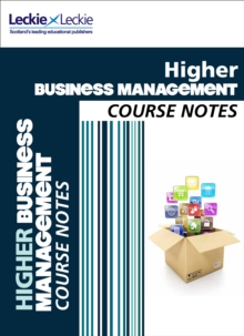 CFE Higher Business Management Course Notes, Paperback