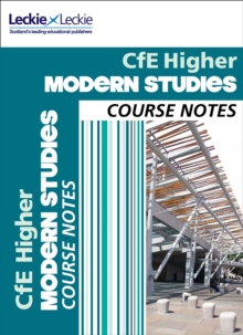Cfe Higher Modern Studies Course Notes, Paperback Book