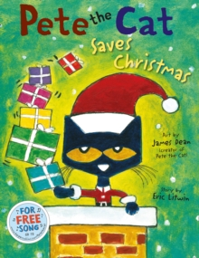 Pete the Cat: Saves Christmas, Paperback Book
