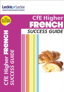 CfE Higher French Success Guide, Paperback Book