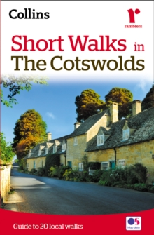 Short Walks in the Cotswolds, Paperback