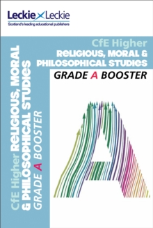 CfE Higher Religious, Moral & Philosophical Studies Grade Booster, Paperback Book