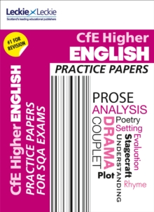 CFE Higher English Practice Papers for SQA Exams, Paperback