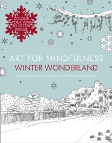 Art for Mindfulness: Winter Wonderland, Paperback