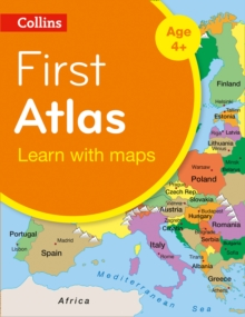Collins First Atlas, Paperback Book