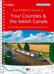 Collins Nicholson Waterways Guides : Four Counties & the Welsh Canals  No. 4, Spiral bound