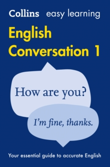Collins Easy Learning English: Easy Learning English Conversation: Book 1, Paperback