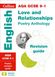 AQA GCSE Poetry Anthology: Love and Relationships Revision Guide, Paperback
