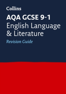 AQA GCSE English Language and English Literature Revision Guide, Paperback Book