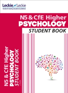 National 5 & CfE Higher Psychology Student Book, Paperback Book