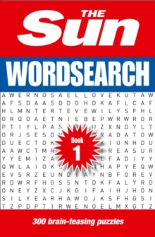 The Sun Wordsearch Book 1 : 300 Brain-Teasing Puzzles, Paperback