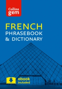 Collins French Phrasebook and Dictionary : Essential Phrases and Words in a Mini, Travel Sized Format, Paperback Book