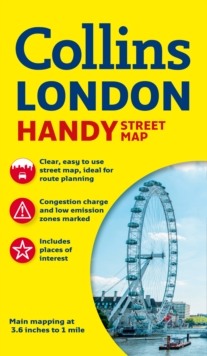 Collins Handy Street Map London, Sheet map, folded