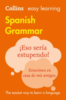 Collins Easy Learning Spanish Grammar [Third Edition], Paperback Book