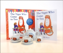 The Tiger Who Came to Tea - China Tea Set, Mixed media product