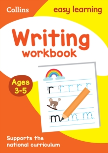 Writing Workbook Ages 3-5, Paperback Book