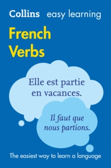 Collins Easy Learning French : Easy Learning French Verbs, Paperback