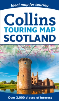 Scotland Touring Map, Sheet map, folded