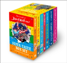The World of David Walliams: Super-Tastic, Multiple-item retail product, slip-cased Book