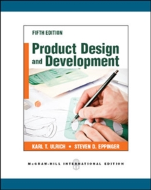 Product Design and Development, Paperback Book