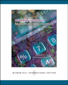Fundamental Methods of Mathematical Economics, Paperback Book
