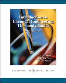 Introduction to Chemical Engineering Thermodynamics, Paperback