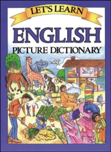 Let's Learn English Picture Dictionary, Hardback Book