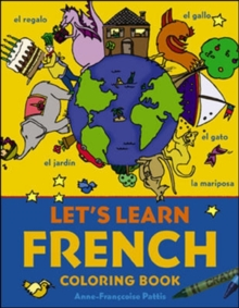 Let's Learn French Coloring Book, Paperback Book