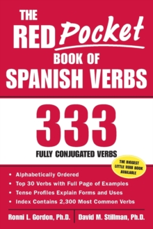 The Red Pocket Book of Spanish Verbs : 333 Fully Conjugated Verbs, Paperback