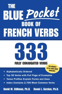 The Blue Pocket Book of French Verbs : 333 Fully Conjugated Verbs, Paperback